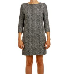 FIFFI DRESS FISHBONE via Jascha online store. Click on the image to see more!