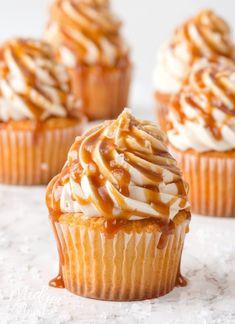Make Boxed Cake Mix taste like Bakery cake. Make your boxed cake mix taste homemade. How to How to Make Boxed Cake Mix taste like Bakery cake. Homemade Cupcake Recipes, Homemade Frosting, Baking Recipes, Loaf Recipes, Candy Recipes, Baking Ideas, Cookie Recipes, Dessert Recipes, Salted Caramel Frosting