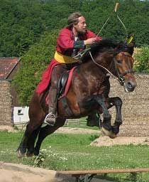 Horseback-Archery  :O I know need to do this
