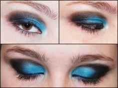 Black and Blue Make Up