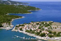 Durchfahrt zwischen den Inseln Losinj und Cres
