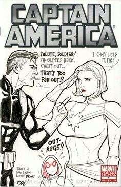 Captain America variant cover by Frank Cho
