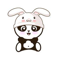 Resultado de imagen para panda kawaii
