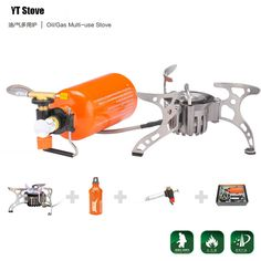 ==> [Free Shipping] Buy Best Portable Oil/Gas Multi-Use Stove Camping Stove Picnic Gas Stove Cooking Stove with Retail Box with Gas Refill Adapter Online with LOWEST Price | 32545013160