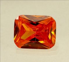 5.39 CT Orangeish Red Cubic Zircon| AstroKapoor.com