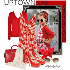 """Uptown Girl"" by stylesbyjoey on Polyvore"