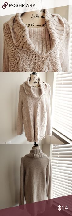 """Old Navy Gray Cowl Neck Comfy Knitted Sweater Old Navy Gray Cowl Neck Comfy Knitted Sweater Size 2X or XXL Length: 30"""" Bust: 21"""" Sleeve: 20.5"""". EUC comes from a pet free and smoke free home. Happy poshing! Old Navy Sweaters Cowl & Turtlenecks"""