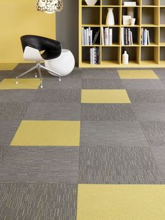 Shaw Contract tru colours tile for accent tiles (shown yellow here, need to select colors for Lesley Towers)