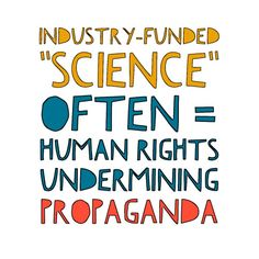 """Check out The Center for Public Integrity article: """"Brokers of junk science?"""" http://www.publicintegrity.org/2016/02/18/19307/brokers-junk-science #science #humanrights"""