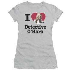 PSYCH I HEART O'HARA Juniors Sheer Cap Sleeve T-Shirt