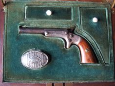 J. Stevens & Co Arms , Serial: 7601, Pocket type single shot 22cal. pistol in Original wooden box. Produced between 1864 and 1886, photography by Nico Loos