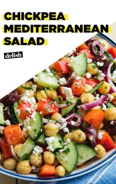 Let Mediterranean Chickpea Salad Take You AwayDelish