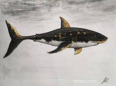 "Gefällt 3 Mal, 1 Kommentare - bibi jay dorian 🏳️🌈🇦🇹🇭🇷 (@bibijaydorian) auf Instagram: ""Procrastination Shark. It took about 5 months to finish this golden boi. I do like it, but this…"" 5 Months, Shark, Jay, Take That, It Is Finished, Animals, Instagram, Animales, Animaux"