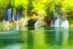 Lanjee Chee - Waterfall lake 1