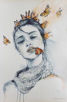 Butterfly Kisses by Sara Riches More