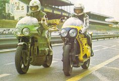 Godier Genoud Kawasaki, Bol d'or 1974