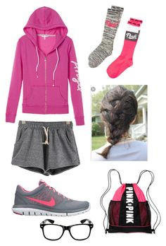 """Peru day 17"" by rikey-byrnes on Polyvore featuring Victoria's Secret and NIKE"