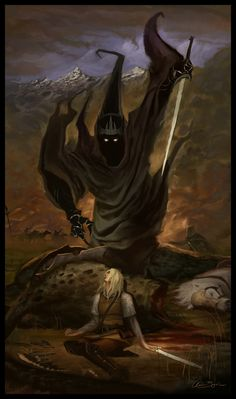 — Chris Bjors Eowyn and the Nazgul