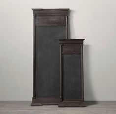 Salvaged Trumeau Chalkboard from #Restoration Hardware #poachit