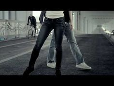Levis Ballet Commercial - Full Version - YouTube I'd love to know what shoes she's wearing, as I need to replace my jazz sneakers which disintegrated last year.