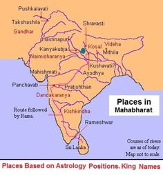 Scientific Dating and Chronology of Mahabharat, History of India India World Map, India Map, India Travel, Ancient Indian History, History Of India, Ancient Map, Gernal Knowledge, General Knowledge Facts, Knowledge Quotes