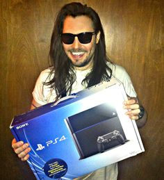 Andrew W.K. | News: Andrew's PS4 Giveaway Party!