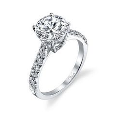 14K White Gold and Diamond Engagement Ring ~ Fine Jewelry & Engagement Rings   Salisbury, MD   Kuhn's Jewelers