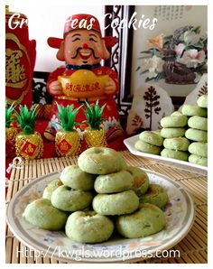 Green Peas Cookies (青豆饼) Posted on January 29, 2015 by Kenneth Goh