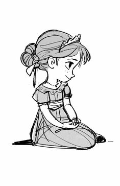 Anna drawing