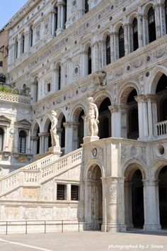 The Doges Palace, Venice, Italy.  The single most beautiful thing I have EVER seen.