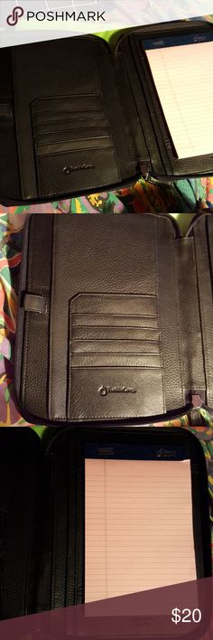 Agenda/planner Franklin Covey planner, notebook agenda. Genuine black leather. Other