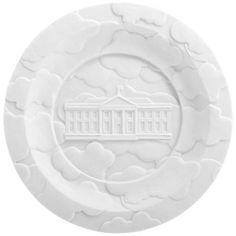 Makkum Biscuit Fog Banks Plate by Studio Job   AllModern