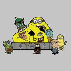 Banana the Hutt Minions Star Wars Jabba