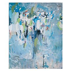 Colors = beautiful. Motion = beautiful. $350 at Zgallerie. Maybe for over fireplace in new house? #house #art #zgallerie #living_room