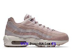 super popular 98ca4 14ccf Nouveau Nike Wmns Air Max 95 Gs LX Chaussures de Trail Femme Blanc brun  foncé AA1103