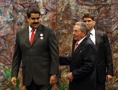 Maduro a Cuba prima di Obama (2016)
