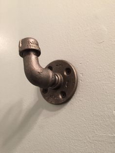 A personal favorite from my Etsy shop https://www.etsy.com/listing/250114590/industrial-pipe-wall-hooks