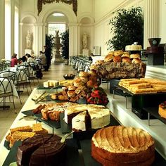 Time for Tea at The Kensington Orangery in Kensington Gardens, London.