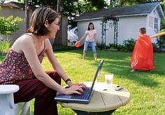 Πως θα έχουμε σύνδεση στο Internet όταν βρισκόμαστε στη βεράντα ή τον κήπο μας