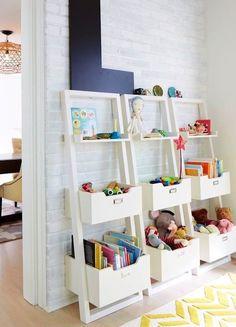 20 ideas para ordenar juguetes que te ayudarán a acabar con el desorden. #juguetes #ordenar #creatividad #hogar