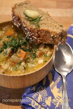 Zuppa di Orzo, Porri, Patate e Porcini (Ri-Edition)