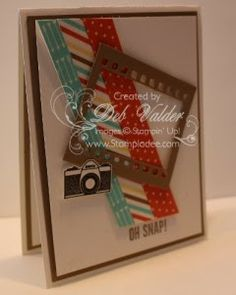 Peachy Keen on film framelits retro fresh washi tape hip notes make note rotary stamp