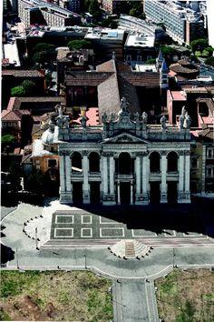 Roma dall'alto: forme della città nella storia