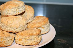 Herbed Cheese Buttermilk Biscuits by So Tasty, So Yummy