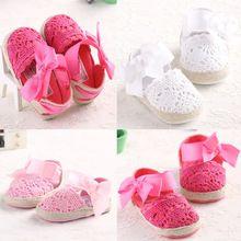 Criança verão infantil princesa primeiro Walkers Prewalker sapatos de sola macia de bebê recém-nascido vestido de verão(China (Mainland))
