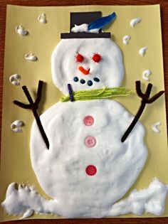 Véronique nous propose une jolie idée de bricolage de bonhomme de neige à réaliser étape par étape avec nos enfants.