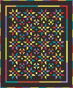 Illusion - Moda 12 Pack Fat Quarter Free Pattern
