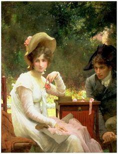 Marcus Stone 1840-1921 In Love (1907)
