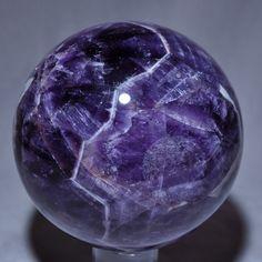 Amethyst ''Flower'' 4.62 inch Polished Crystal Sphere - Tanzania