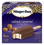 Häagen-Dazs® Bars: Salted Caramel